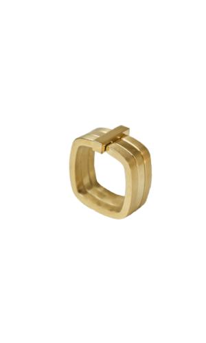 Gold Three Tier Ring