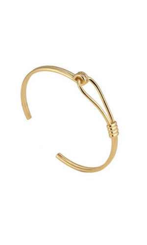 Gold Latch Bracelet