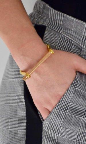 Gold Rosegold XL Screw Cuff