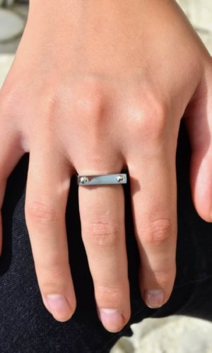 Silver D2 Ring