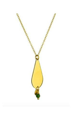 Boho Drop Necklace - gold