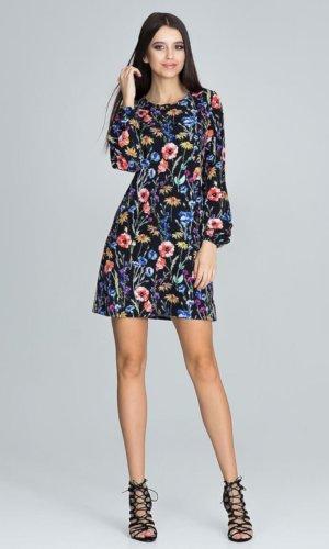 Figl Floral Mini Dress