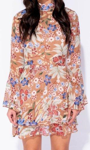 Parisian Floral nude dress