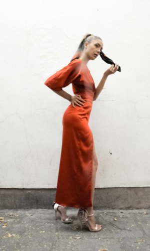 The Red Athena Dress