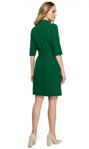 Green Midi Blazer dress