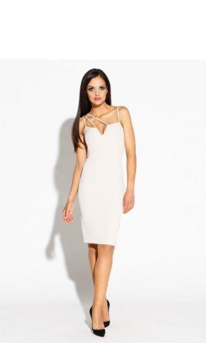 Beige Cocktail Dress