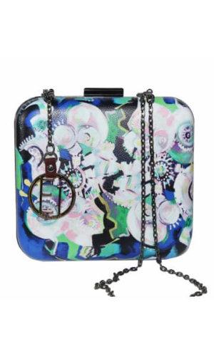 box clutch, independent fashion brands