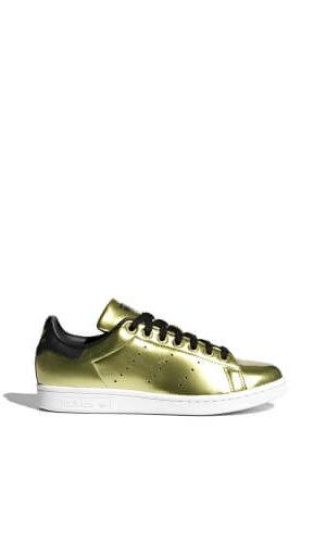 StanSmith Metalic Gold Women Sneakers