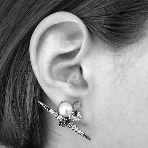 Chrysler Pearl Earrings