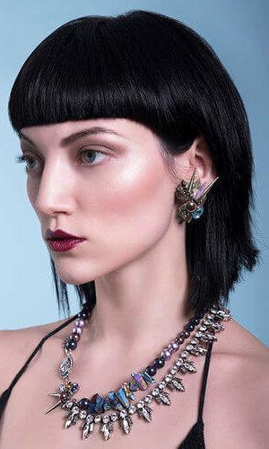 Crystal Gia Earrings.