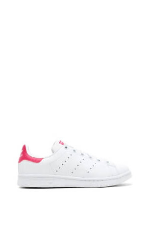 Stan Smith White Bold Pink Trainers