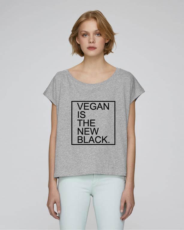 Vegan Is the New Black Crop Top