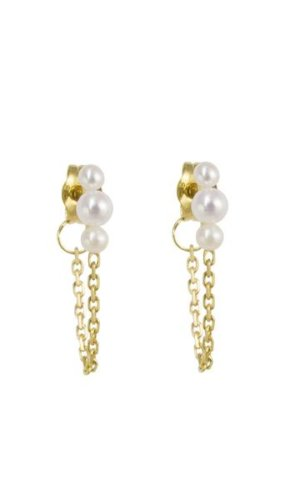 Women's Jewellery Mermaid Chain Earrings